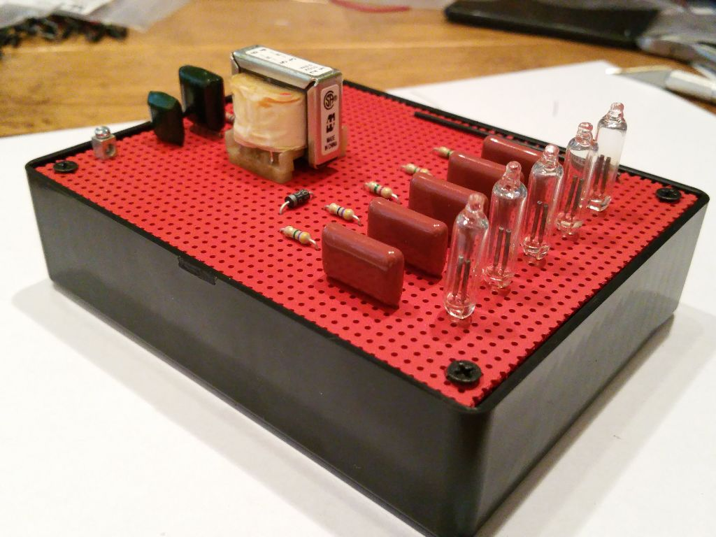 Build A Neon Goofy Lite Methods For Automotive Electronics Circuits Electronicslab Assembly Photos The Completed Project