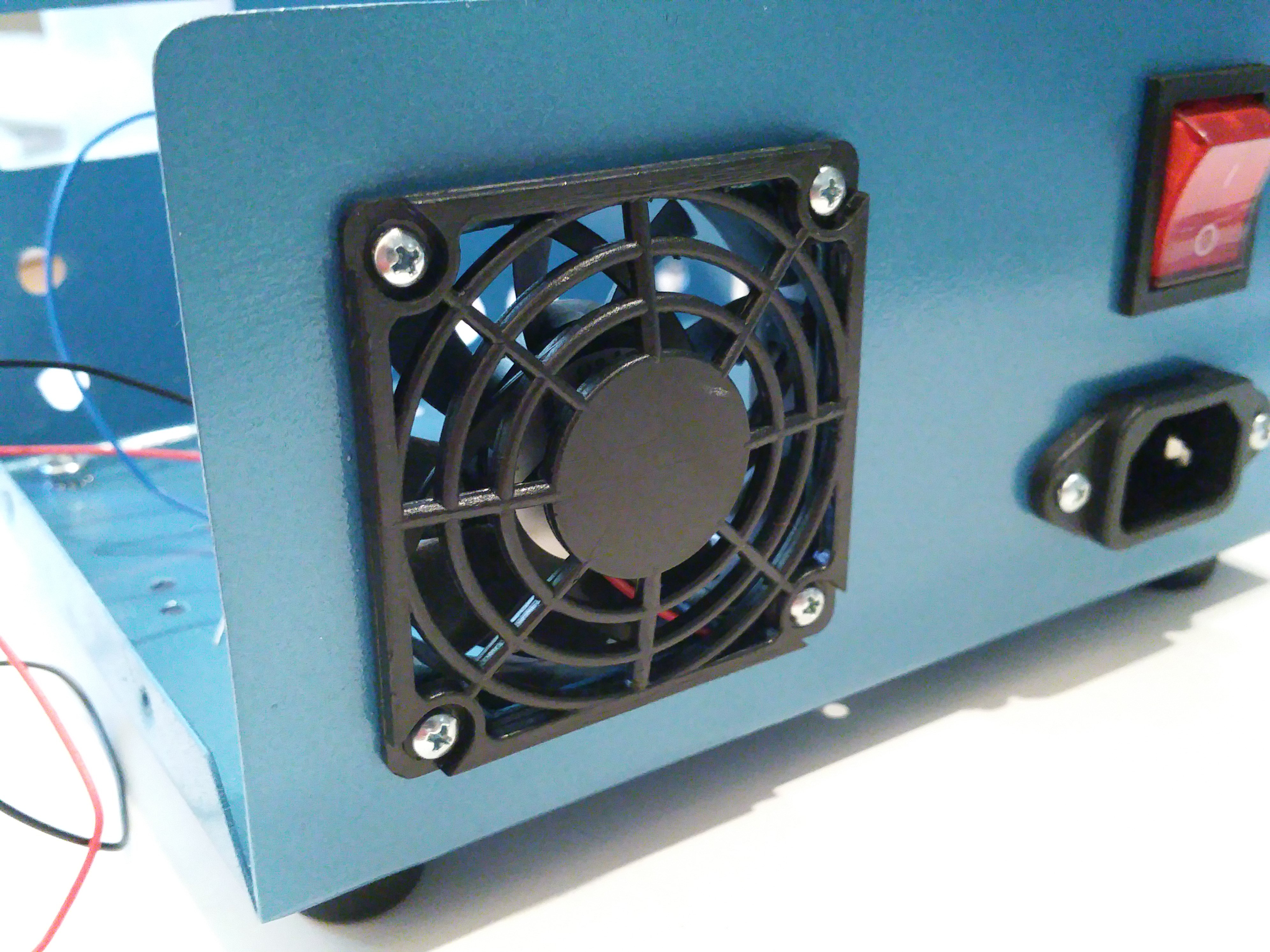 Build A Switched Mode Dual Variable Power Supply Ac Fan To Potentiometer Wiring Wire Input Switch And Ground