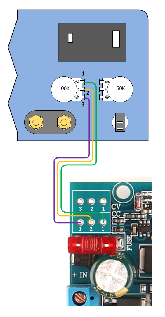 Build a Switched Mode Dual Variable Power Supply on push pull pot diagram, potentiometer dimensions, potentiometer circuit diagram, potentiometer wiring to timer, potentiometer schematic, blue potentiometer diagram, potentiometer arduino diagram, potentiometer wiring audio, potentiometer parts, push pull potentiometer diagram,