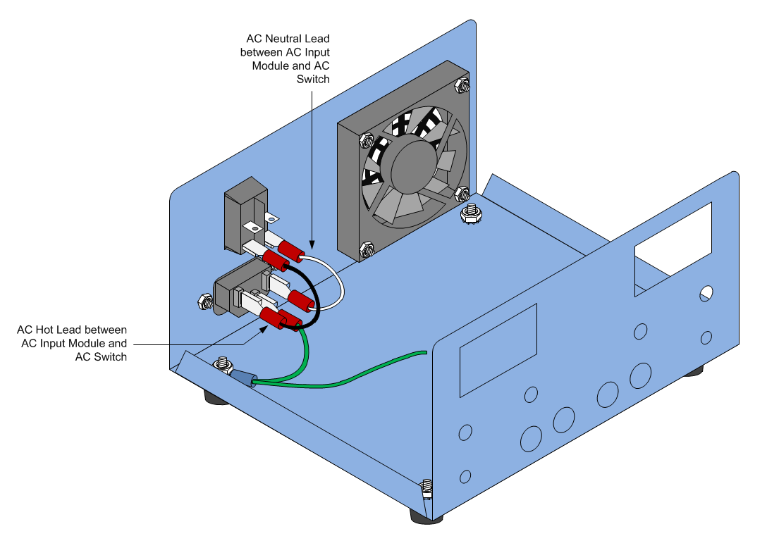 Build A Switched Mode Dual Variable Power Supply Diagram Specs Optional Modules Supplies For Cisco Catalyst Connect The Other End To Bottom Right Lug Of Ac Switch Refer Below Verify That Black Lead Is Connected Properly