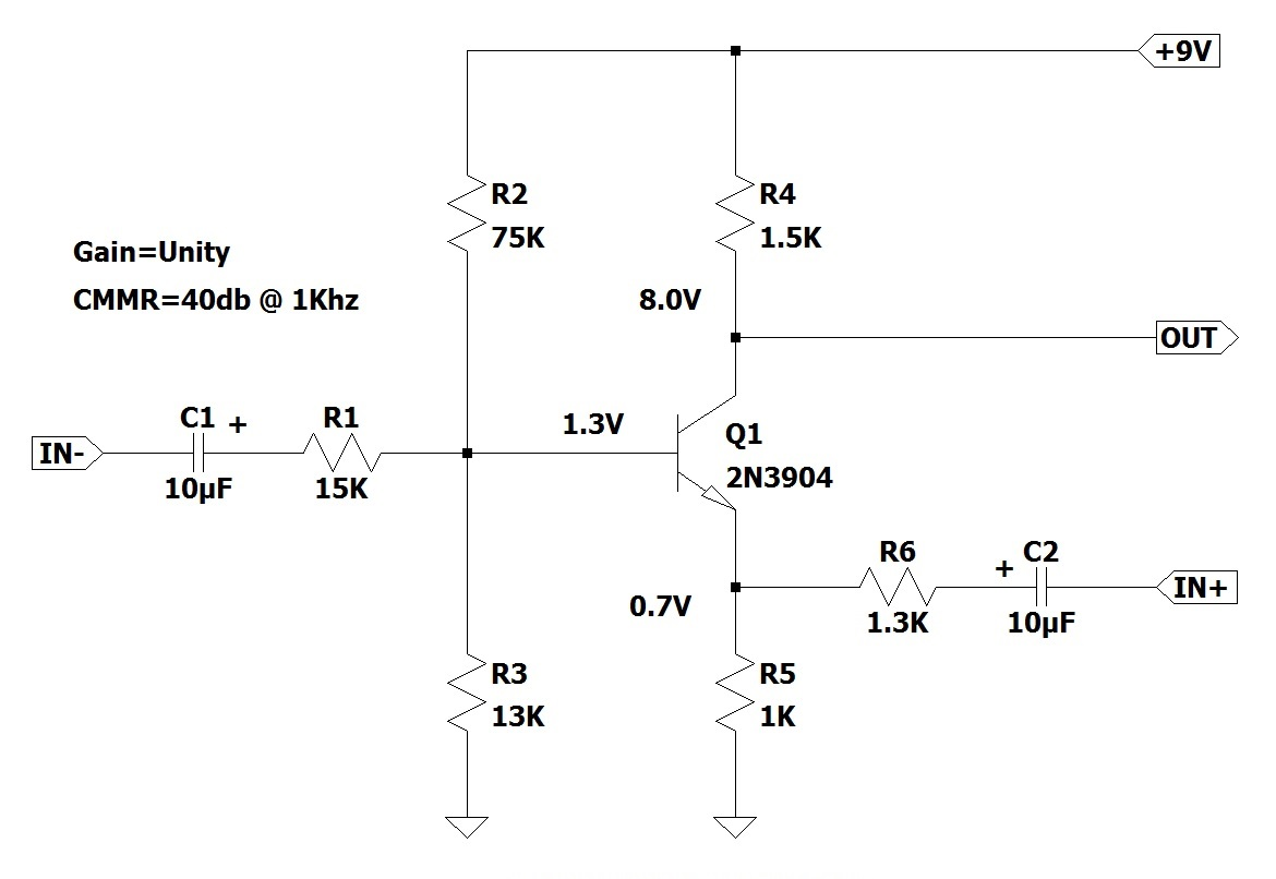 Build This 8 Transistor Stereo Amplifier Audio Power Amp Circuit Simple Schematic Collection Single Differential