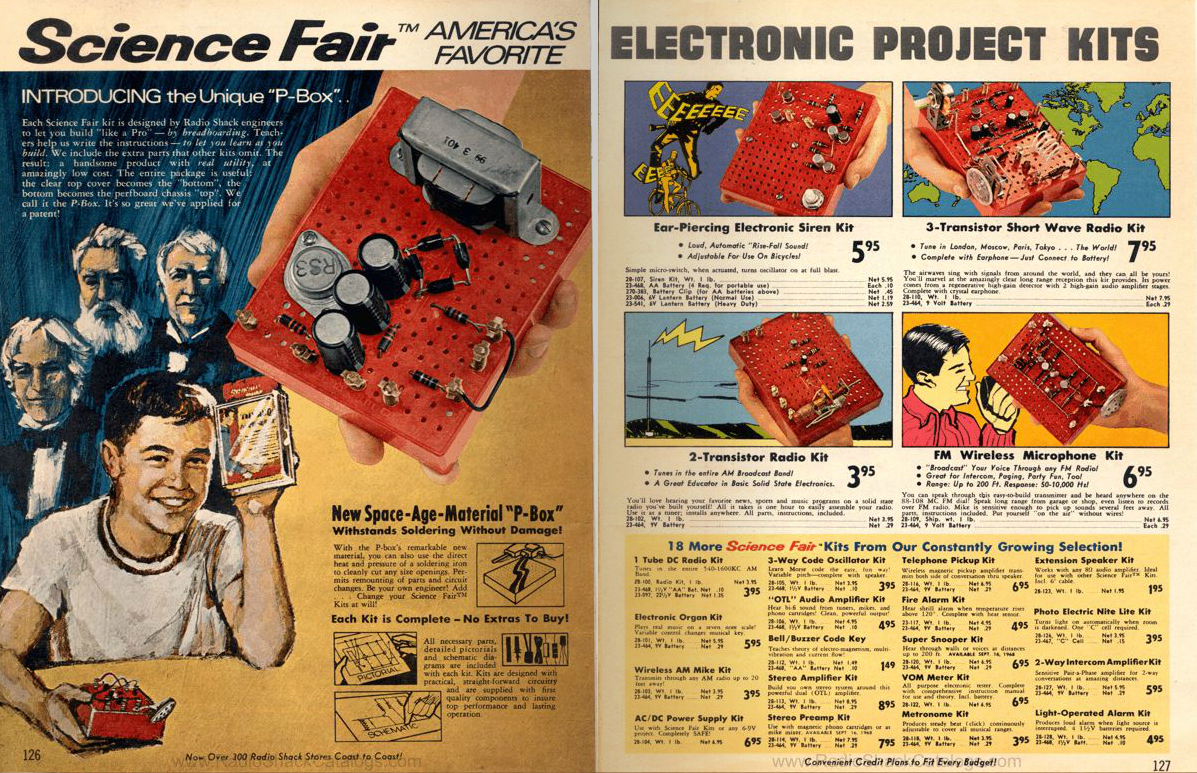 3 Transistor Short Wave Radio Signal Booster Electronics Project By The Early 80s However Shack Had Become A Struggling Consumer Retailer And Most Of Kits Component Parts Were Discontinued